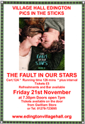 Film Night-The Fault in Our Stars