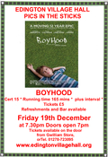 FILM NIGHT-BOYHOOD
