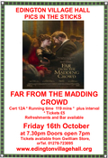 FILM NIGHT - FAR FROM THE MADDING CROWD