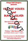 VILLAGE VOICES & BURTLE SILVER BAND