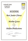Winner-Best Junior Chorus